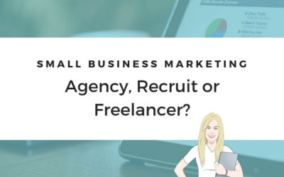 Small Business Marketing Support: Agency, Recruit, or Freelancer?