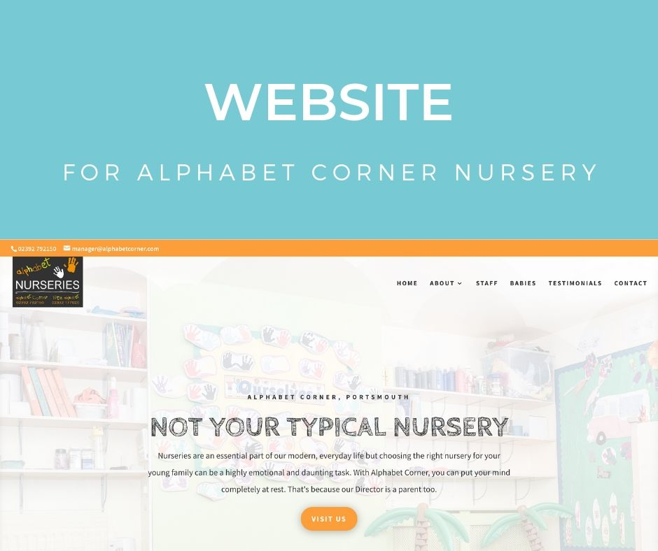 Alphabet Corner Nursery Website