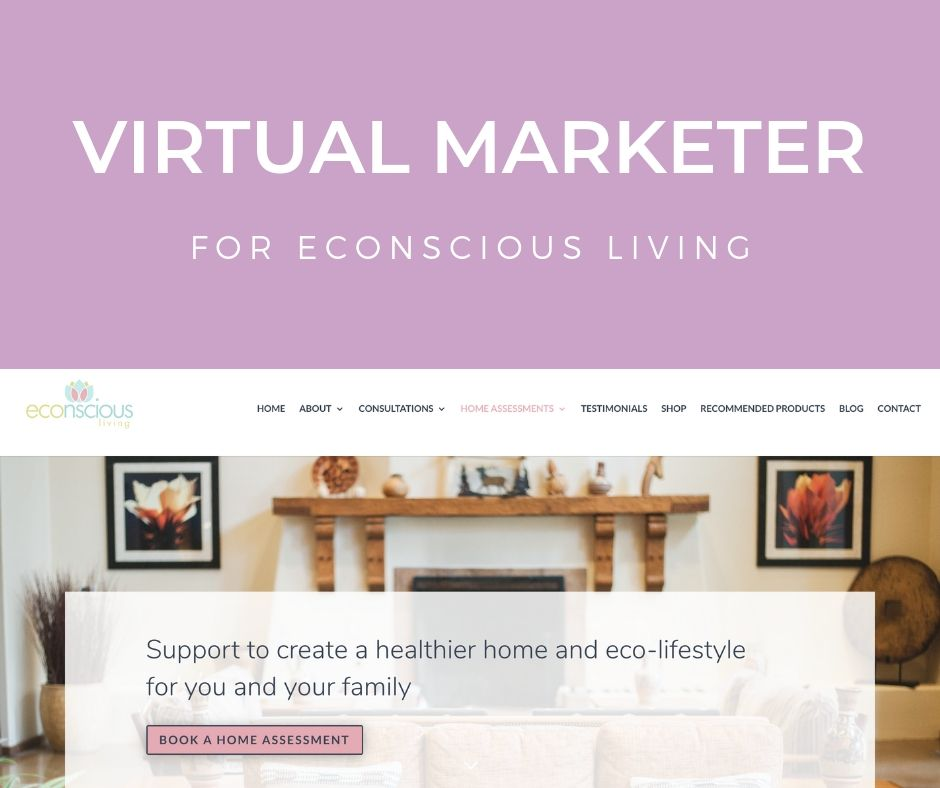 Virtual Marketing Services For Econscious Living