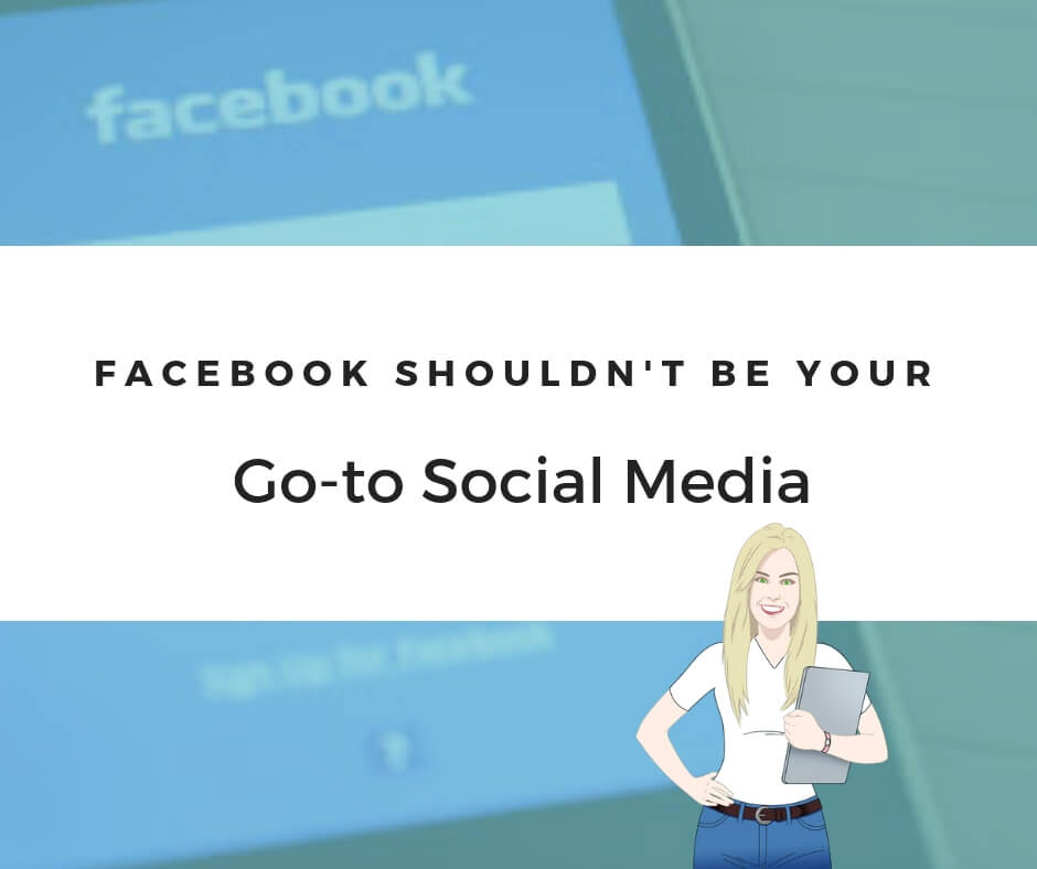 Facebook shouldn't be your go-to for social media for marketing