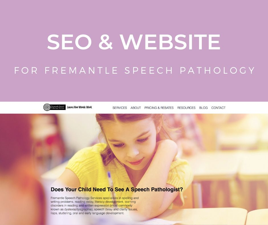 SEO Audit & Search Engine Optimisation For Freo Speech
