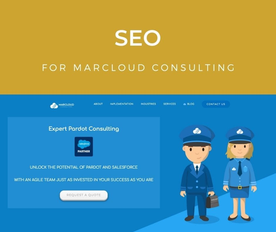 Increasing search presence for MarCloud Consulting