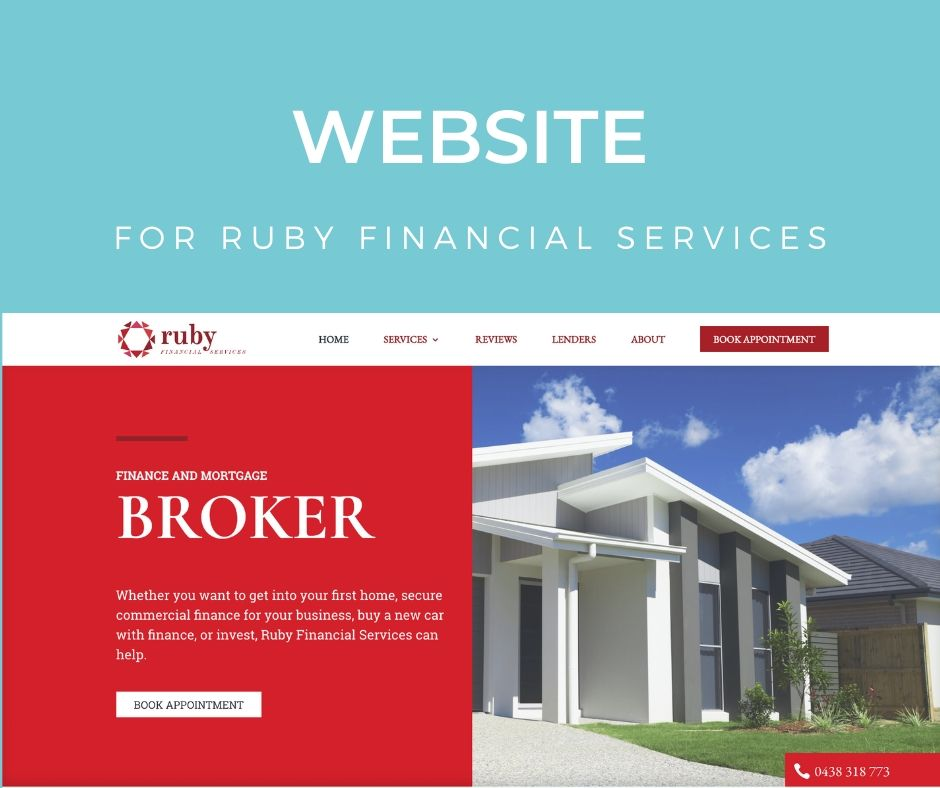 Website for Ruby Financial Services