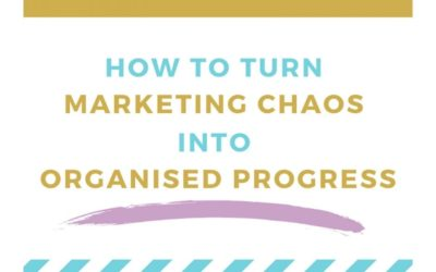 How to Turn Online Marketing Chaos into Organised Progress [Infographic]