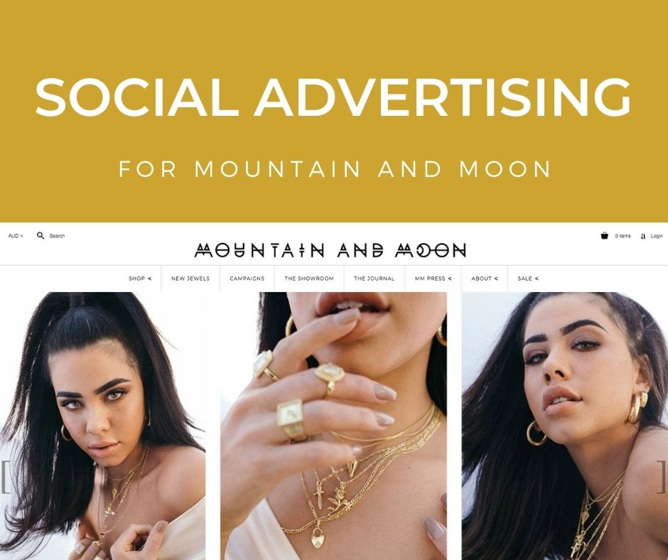 Social Advertising for Mountain and Moon